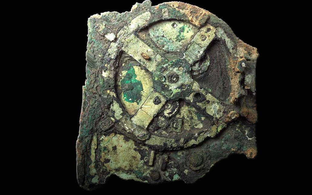 Una computadora analógica de la antigüedad diseñada para predecir posiciones astronómicas