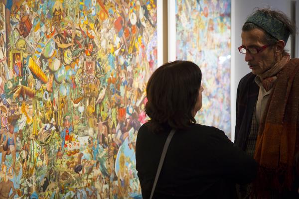 Sesion Mauricio Garrido y Patricia Rivadeneira en el Centro Cultural las Condes