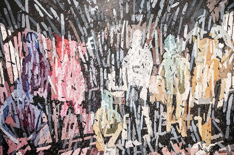 """Sesion """"Incuria"""" de Marco Bizzarri en Galería Animal"""