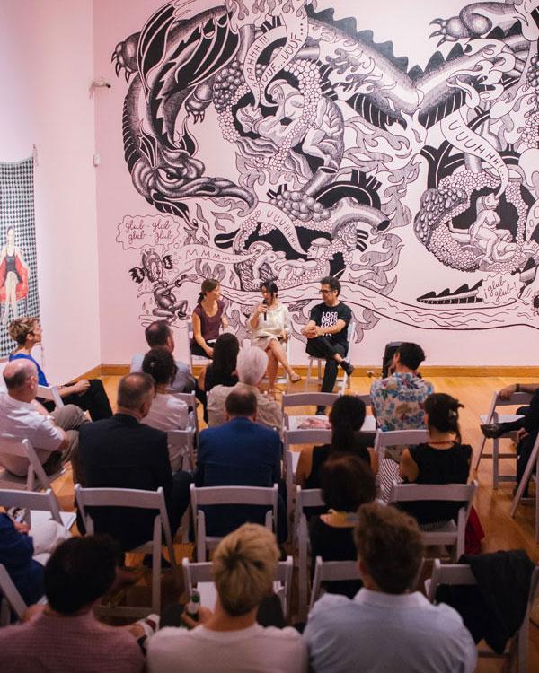 """Sesion """"Los Dominios Perdidos"""" en el Museo de Artes Visuales"""