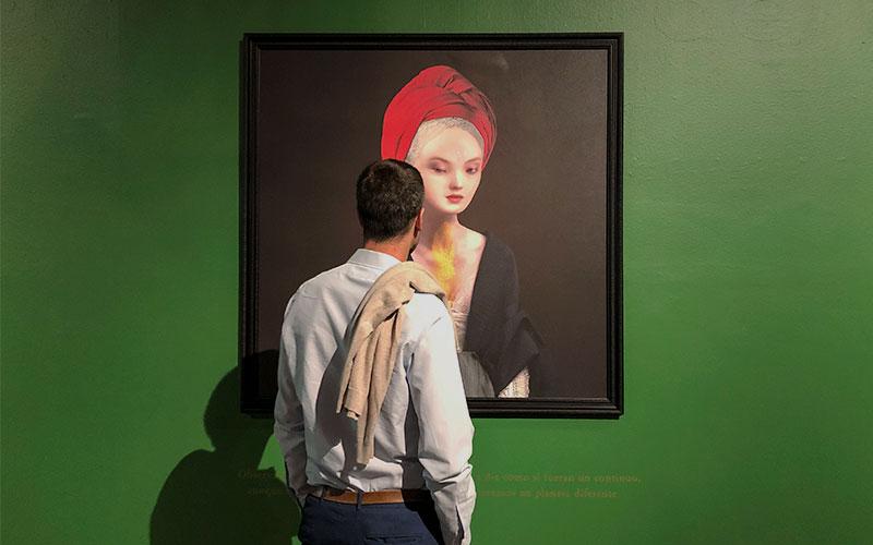 "Sesion ""Enfermedades preciosas"" de Cecilia Avendaño en Sala de Arte CCU"