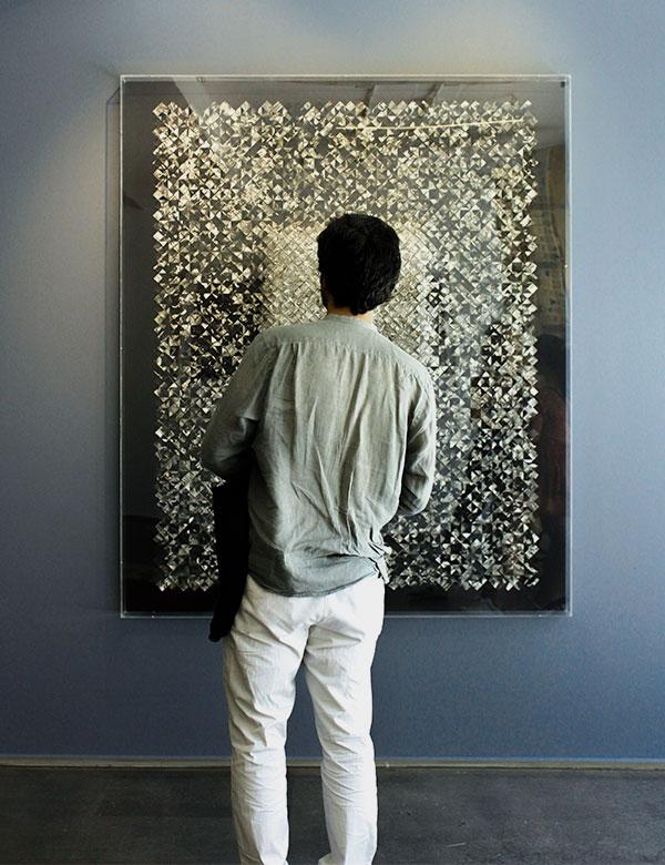 """Sesion La exposición colectiva """"Imagen del texto"""" en Aninat Galería"""
