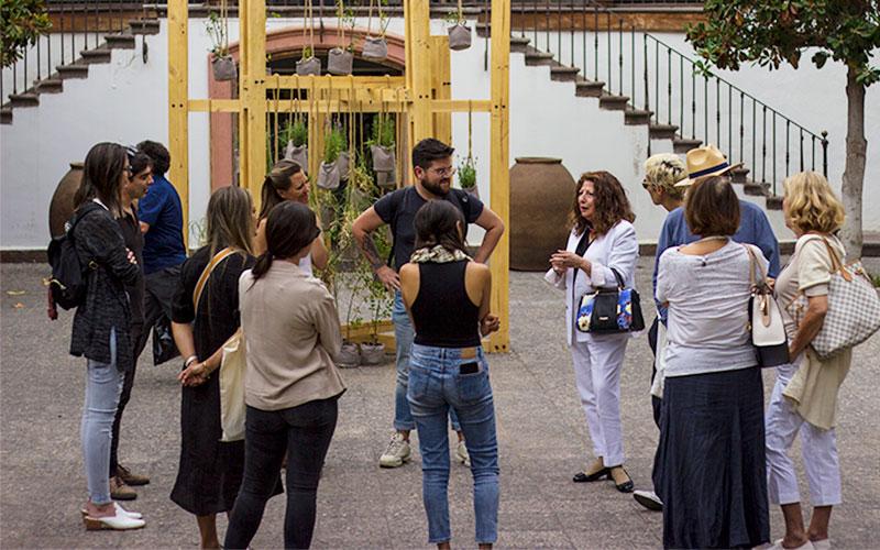 """Sesion """"Naturaleza Humana"""" de la 14ª Bienal de Artes Mediales en el Centro Cultural Las Condes"""