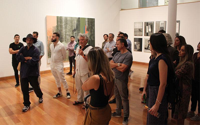 Sesion «La memoria, la historia y el olvido» de Samy Benmayor en el Museo de Artes Visuales